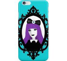 Purple Pastel Goth - Aqua iPhone Case/Skin