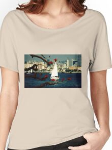 San Diego Skyline - Day Women's Relaxed Fit T-Shirt