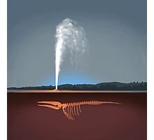 Geysers explained Photographic Print
