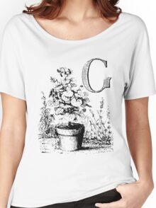Garden Alphabet Letter G Women's Relaxed Fit T-Shirt
