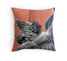Vancouver, BC: Watch Over the Fallen Throw Pillow