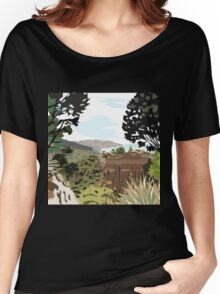 Gore Bay, NZ by Ira Mitchell-Kirk Women's Relaxed Fit T-Shirt