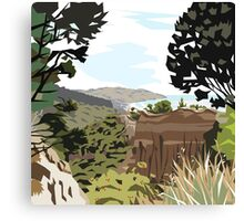 Gore Bay, NZ by Ira Mitchell-Kirk Canvas Print