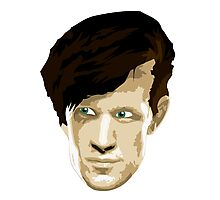 Doctor Who #11 Matt Smith Photographic Print