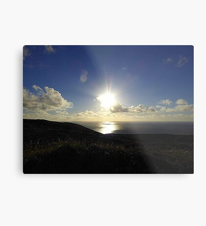 Leaving Horn Head.............................Donegal Metal Print