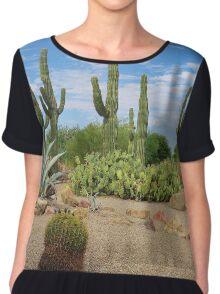 Cactus Garden Chiffon Top