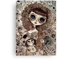 Forgotten Girl Canvas Print