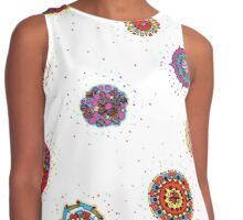 Snap Dragon pattern design Contrast Tank