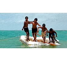 Seisia Boys Photographic Print