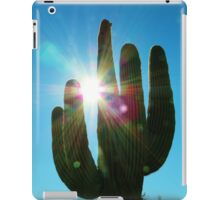 Holding the Morning Sun iPad Case/Skin
