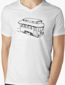 The Trolley (Artistic) Mens V-Neck T-Shirt