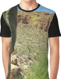 Desert Landscape, Arizona Graphic T-Shirt