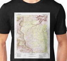 USGS TOPO Map Arizona AZ Music Mountains NE 312564 1968 24000 Unisex T-Shirt