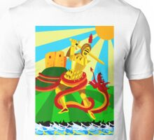 THE LAMPTON (WORM) DRAGON Unisex T-Shirt
