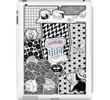 a baby whom is crying iPad Case/Skin