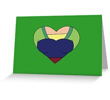 A Courageous Heart Greeting Card