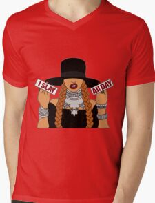 beyonce Mens V-Neck T-Shirt