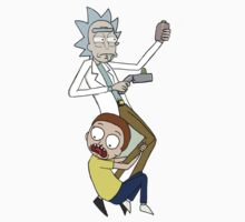 Rick and Morty by danigrillo