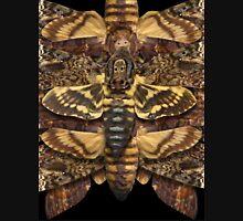 Death's Head Moth Mandala - Asymmetrical Unisex T-Shirt