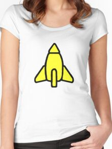 Reggie Rocket Women's Fitted Scoop T-Shirt