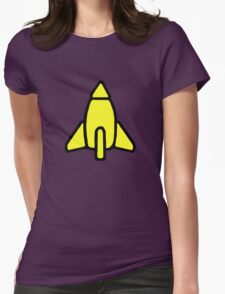 Reggie Rocket Womens Fitted T-Shirt