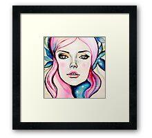 Cosmic Girl Framed Print