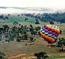 Drifting over the Wimmera by Graeme  Hyde