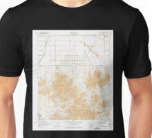 USGS TOPO Map Arizona AZ Chandler Heights 310816 1956 24000 Unisex T-Shirt
