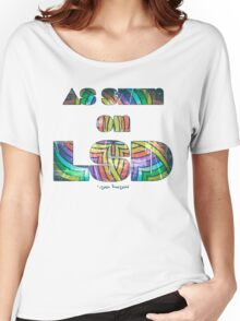 Retro Cool Party Psychedelic LSD Design  Women's Relaxed Fit T-Shirt