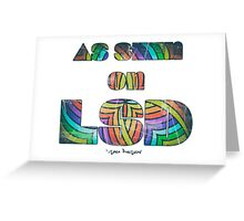 Retro Cool Party Psychedelic LSD Design  Greeting Card