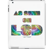 Retro Cool Party Psychedelic LSD Design  iPad Case/Skin