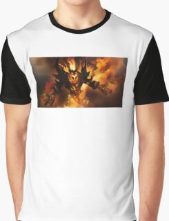 Dota 2 Shadow Fiend Nevermore Graphic T-Shirt