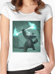 Art of Pokemon -  Videogame Women's Fitted Scoop T-Shirt