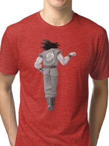 "Goku, best friend (To buy in combo with ""Vegeta, best friend"") Tri-blend T-Shirt"