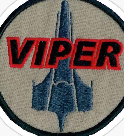 Viper Pilot Patch Sticker