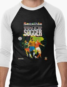 Sensible World of Soccer Men's Baseball ¾ T-Shirt