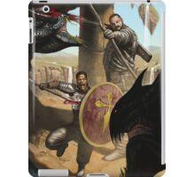Knights Battling Hydra iPad Case/Skin