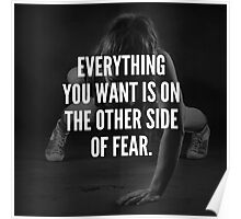 The Other Side Of Fear Poster