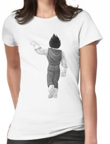 """Vegeta, best friend (To buy in combo with """"Goku, best friend"""") Womens Fitted T-Shirt"""