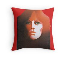 """Frida from ABBA, """"The Album"""" solo design n° 3 (of4) Throw Pillow"""