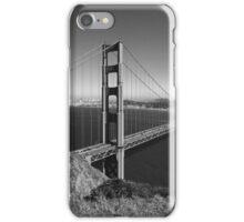 Golden Gate Bridge San Francisco B & W iPhone Case/Skin