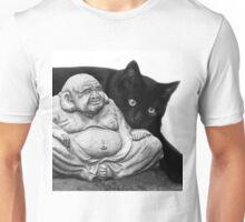 Listening To Buddha  Unisex T-Shirt