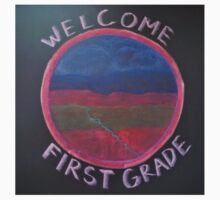Welcome First Grade Kids Tee