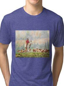 Foxhunt 1 Tri-blend T-Shirt