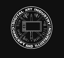 DIGITAL ART INDUSTRY CONCEPT AND ILLUSTRATION Unisex T-Shirt