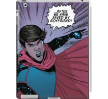 save billy's boyfriend  iPad Case/Skin