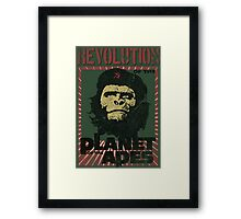 Revolution of the Planet of the Apes Framed Print