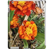 Burnished Marigolds iPad Case/Skin