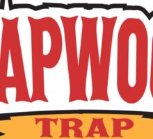 TRAPWOODS TEE BACKWOODS T SHIRT Sticker