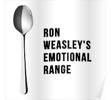 You've got the emotional range of a teaspoon! Poster